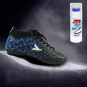 Giày bóng đá Mitre chuyên nghiệp MT170501 màu đen xanh - Tặng bình làm sạch giày cao cấp