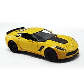 Mô Hình Xe Corvette Z06 Yellow 1:24 Maisto MH-31133