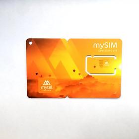 Sim 4G Myanmar 15 ngày, 3GB Data tốc độ cao, Có thoại
