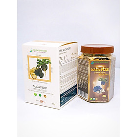 Hũ sâm Maca Peru đen khô thái lát - Lepidium Meyenii (200g)