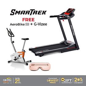 """Máy Chạy Bộ Gintell SMARTREK tặng """"Xe đạp tập AERO BIKE 3.0 + Máy massage mắt G-VIZEE"""""""
