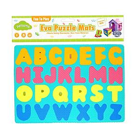 Đồ Chơi Trẻ Em Bằng Xốp - Bảng Ghép Hình Chữ Và Số 2 Tấm P0308