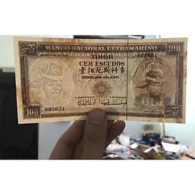 Tờ tiền cổ Đồng Ti Mo, quốc gia không còn tiền tiêu chính thống