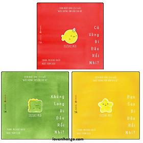 Combo Ehon Đi Đâu Thế - Bộ 3 Cuốn (Ehon Nhật Bản 0-6 Tuổi) - (Tặng kèm cuốn Những Câu Chuyện Kinh Điển)