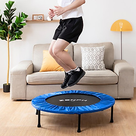 XiaomiZenph Foldable Muted Round Trampoline Kids Indoor Entertainment Tool Adult Fitness Workout Stability Training Trampoline-5