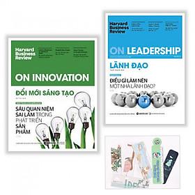 Combo 2 Cuốn: On Innovation - Đổi Mới Sáng Tạo + On Leadership - Lãnh Đạo + Tặng kèm bookmark PD