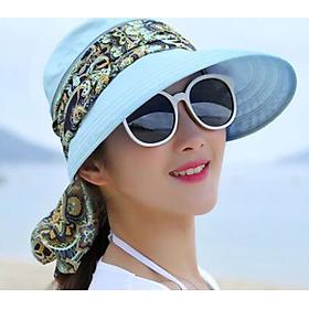 Mũ kèm khẩu trang chống nắng kèm khẩu trang tiện dụng