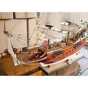 Mô hình thuyền Gỗ Phong Thủy Trang Trí Batavia (hàng cao cấp, không lắp ráp)