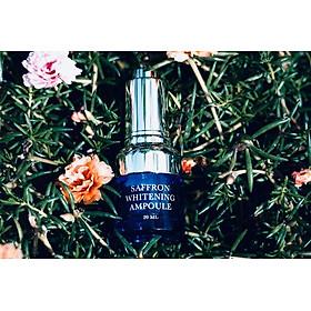 Saffron Whitening Ampoule 20ml + Mặt Nạ Sinh Học Nhụy Hoa Nghệ Tây M'Lirati (Saffron Natural Cellulose) - T.H.Y-3
