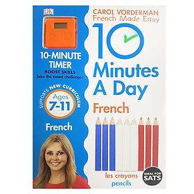 Carol Vorderman 10 Minutes a Day French (Ages 7+)