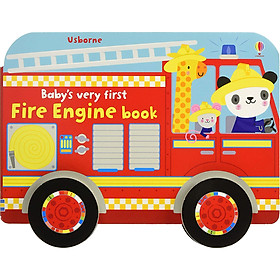Sách Usborne Baby's very first: Fire Engine book