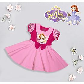Đầm Công Chúa Bạch Tuyết, Elsa, Sofia Chất cotton 100% Cao Cấp