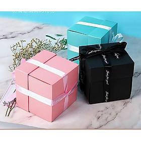 Lovebox Handmade dán ảnh - Hộp quà tặng người yêu, tặng sinh nhật