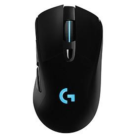 Logitech G703 Wireless Gaming Mouse Lightweight Ergonomic Mice with LIGHTSPEED Wireless Technology HERO 25K Sensor