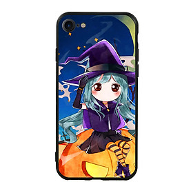 Hình đại diện sản phẩm Ốp lưng Halloween viền TPU cho điện thoại Iphone 7 / Iphone 8 - Mẫu 04