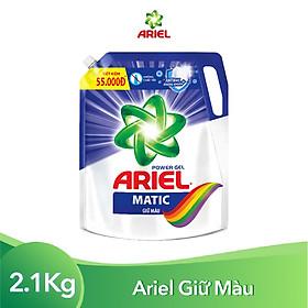 Nước Giặt Ariel Matic Giữ Màu Túi 2.1Kg
