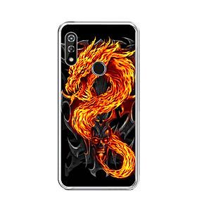 Ốp lưng dẻo cho điện thoại VSMART STAR 4 - 0218 FIREDRAGON - Hàng Chính Hãng