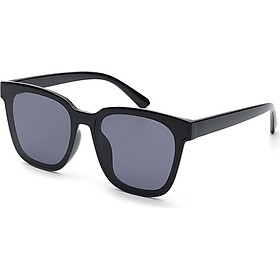 Blue (Bluekiki) sunglasses unisex sunglasses frame big box men driving driving mirror ladies UV glasses TR91 black frame black film