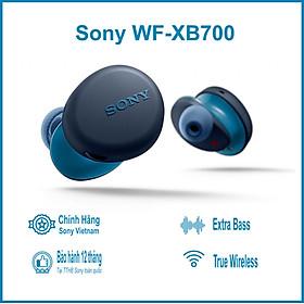 Tai Nghe Bluetooth True Wireless Sony WF-XB700 - Hàng Chính Hãng