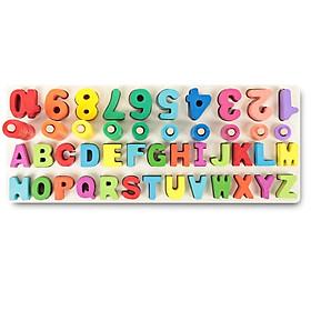 Giáo cụ Montessori giúp bé học chữ số đếm - Totdepre1102