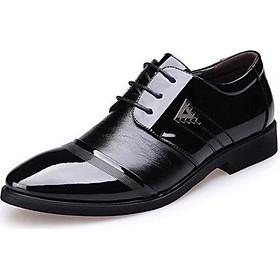Giày tây da nam đế cao thời trang TRT-GTN-01-DE (màu đen)