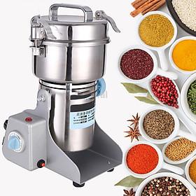Máy xay tinh bột nghệ -thiết kế đặc biệt hoạt động mạnh mẽ có thể xay các loại hạt khác nhau như các loại gạo, các loại hạt ngô, đỗ, ngũ cốc, tam thất, linh chi, nghệ khô, các loại thuốc bắc