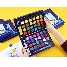 Màu nước dạng nén hộp thiếc G900 màu vẽ hạng họa sĩ chuyên dùng