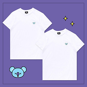 Set 2 áo thun BT21 x HUNT 2Pack Set White Koya HIXH8A801T