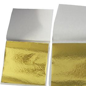 Set 100 Lá vàng công nghiệp Đài Loan - Dát đồ thủ công mỹ nghệ, quà tặng