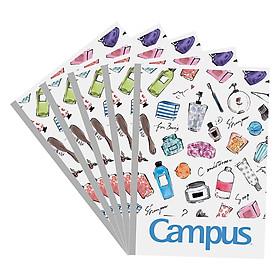 Lốc 5 Vở Viết A4 Classy Campus NB-A4CS200 - Mẫu Ngẫu Nhiên (200 Trang)
