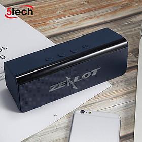 Loa bluetooth Zealot không dây nghe nhạc cực hay, âm thanh chất lượng cao, hỗ trợ kết nối Bluetooth 5.0, thẻ nhớ, USB - Hàng chính hãng