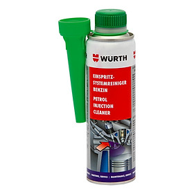 Phụ gia súc béc xăng Wurth Petrol Injection System Cleaner 5861111300 (300ml)