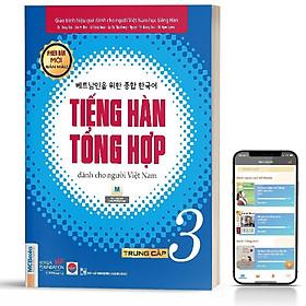 Sách - Tiếng Hàn Tổng Hợp Dành Cho Người Việt Nam Trung Cấp Tập 3 (4 màu) - Phiên Bản Mới 2020, Kèm App Học Online
