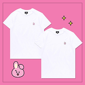 Set 2 áo thun BT21 x HUNT 2Pack Set White Cooky HIXH8A801T