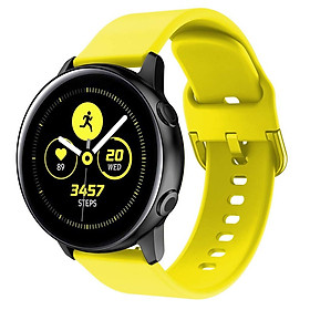 Dây Silicon Cho Galaxy Watch Active2, Galaxy Watch Active1, Galaxy Watch 42 Size 20mm