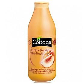 Sữa tắm COTTAGE White Peach (Hương Đào) 750ml