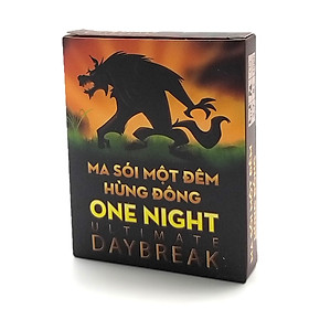 Ma Sói One Night Day Break Việt Hóa