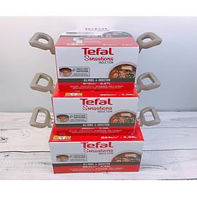 Bộ nồi 3 cái chống dính đáy từ Tefal Sensations - Hàng chính hãng