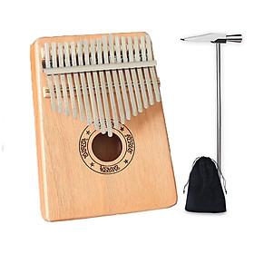 Đàn kalimba 17 phím gỗ mahagony HKV0000293 tặng túi nhung bảo vệ đàn