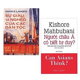 Combo 2 cuốn sách kĩ năng sống : Sự Giàu Và Nghèo Của Các Dân Tộc + Người Châu Á Có Biết Tư Duy?/ Bộ 2 cuốn sách đưa ra những kiến thức rộng về vấn đề trên thế giới