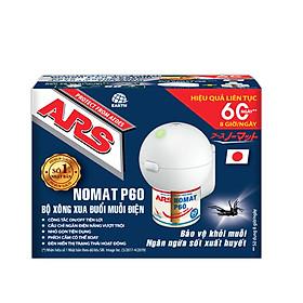 Bộ dung dịch máy xông xua đuổi muỗi điện ARS Nomat P60 - Thương hiệu số 1 Nhật Bản - (dùng trong 60 ngày liên tục 8 tiếng/ngày)