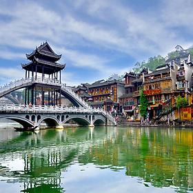 Tour Hà Nội - Trương Gia Giới - Phù Dung Trấn - Phượng Hoàng Cổ Trấn 6N5Đ Bay Vietjet Air Khởi Hành Thứ 4 Hàng Tuần