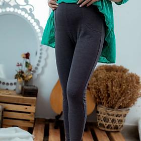 Quần bầu legging dài trơn Emum