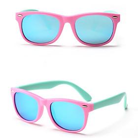 Kính Mát Chống gãy + chống UV Cho Bé Trai Bé Gái MK04HONG Thời Trang Eyewares