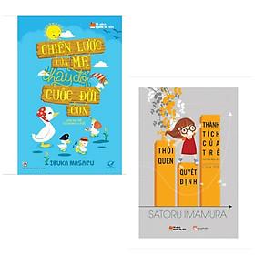 Combo 2 cuốn sách Nuôi Dạy Con Hay : Chiến Lược Của Mẹ Thay Đổi Cuộc Đời Con + Thói Quen Quyết Định Thành Tích Của Trẻ (Tặng kèm Bookmark Happy Life)