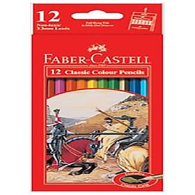 Bút Chì Màu Classic Knight Faber-Castell 12 màu dài (#115852)