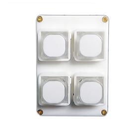 Công tắc bật/tắt điều khiển từ xa thông minh RC4S ( Tặng 02 nút kẹp cao su giữ dây điện cố định )