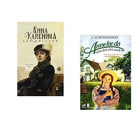 Combo 2 cuốn sách: Anna Karenina  tập 2 + Anne tóc đỏ dưới chái nhà xanh