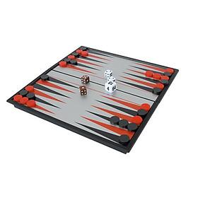 Magnetic Chessboard Backgammon Folding Chess Board Portable Backgammon Board Puzzle Game