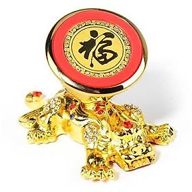 Bộ Đế hít nam châm mạ vàng  VIP, giá đỡ điện thoại trên xe hơi